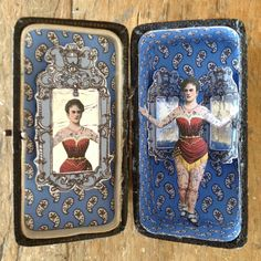 Tattoo lady in up cycled case