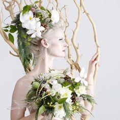 Art Direction,  Photography, Jewelry & Prop Design: James Stolzenbach  Floral Design: Babylon Floral Design  Model: Abella Harlow