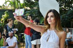 Chic e Fashion: Giovanna Lancellotti na campanha da Passarela