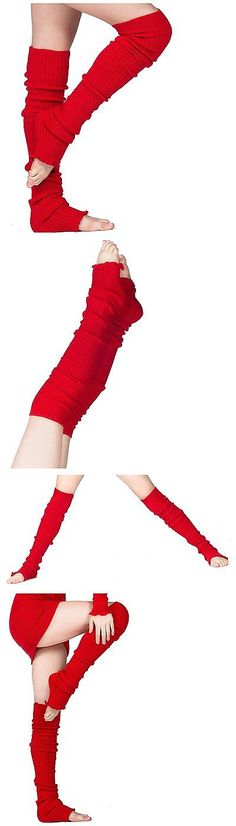 Leg Warmers 163139: Peach Sexy Thigh High 28 Inch Leg Warmers By Kd Dance New York Stretch Knit Made -> BUY IT NOW ONLY: $36.29 on eBay!