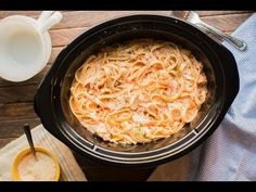 Slow Cooker Cajun Chicken Fettuccine - The Magical Slow Cooker