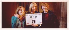 Harry Potter Ron Weasley Emma Watson Hermione Granger Rupert Grint Movie Film JKR JK Rowling Deathly Hallows GIF