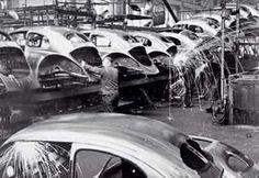 Fábrica de VW en Alemania.