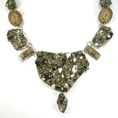 One of our most spectacular pieces. Chunky Pyrite.