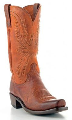 Mens Lucchese Mad Dog Goat Boots Peanut Brittle #N7647-7/4 via @Allens Boots