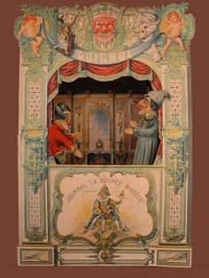 Teatre Guignol de la Poupèe Modelè [F] ca.1885