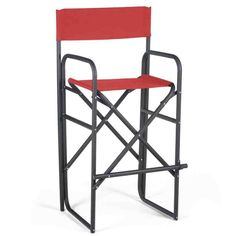 Inch Black Frame Bar Height Directors Chair - Directors Chairs at Hayneedle Furniture Sale, Furniture Decor, Furniture Design, Outdoor Folding Chairs, Face Painting Designs, Body Painting, Painting Tips, Indoor Outdoor, Outdoor Decor