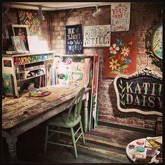 Katie Daisy:  studio