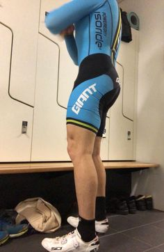 Guys In Lycra: Archive Cycling Outfit, Men's Cycling, Cycling Clothes, Lycra Men, Pro Bike, Bike Wear, Tennis, Men In Uniform, Tights Outfit
