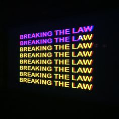 Breaking the law! Don't do it! But if you do, call the C. BRADFORD LAW FIRM   -C. BRADFORD LAW FIRM (424) 703-3416