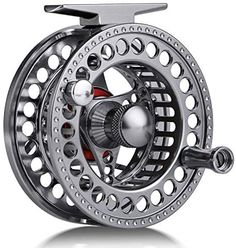 Sougayilang Fly Fishing Reel with CNC-machined Aluminum Alloy Body 5/6, 7/8 Lightweight Fly Reel
