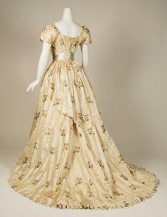Art Nouveau - Robe du soir - Worth - 1905