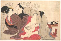 Kitagawa Utamaro: Erotic Print - Metropolitan Museum of Art #KitagawaUtamaro…