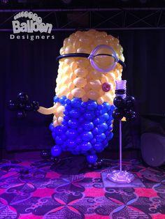Balloon Designers is the work of business partners Steve Jones and Alexa Rivera. Steve and Alexa specialize in creating balloon decor […] Balloon Crafts, Balloon Decorations, Minion Balloons, Minions, Balloon Modelling, Balloon Delivery, Custom Balloons, Balloon Animals, Balloon Arch