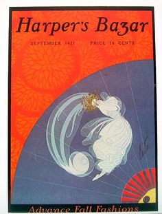 Items similar to Erte Harper's Bazar Magazine Cover September and July 1921 - 1981 2 Sided Book Page on Etsy Harper's Magazine, Magazine Covers, Erte Art, Art Deco Artists, Fashion Wall Art, Vintage Art Prints, Vintage Magazines, Harpers Bazaar, French Artists