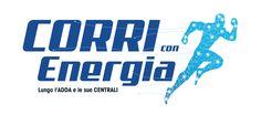 concept e realizzazione logo evento sportivo @corriconenergia