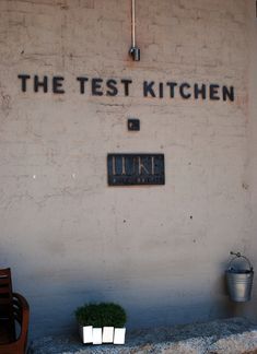 Luke Dale Robert's The Test Kitchen is his independent venture after years as head chef of the award winning La Colombe restaurant Bakery Kitchen, Test Kitchen, Kitchen Reviews, Lush Lawn, Build A Blog, Executive Chef, Amazing Spaces, Kitchen Cabinet Design, Food Preparation
