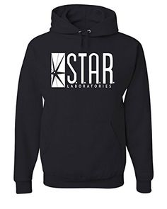 STAR Labs Hoodie S.T.A.R. Laboratories Sweatshirt Black S...