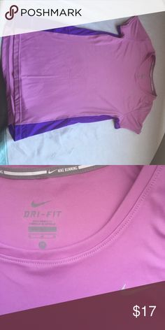 Nike running short sleeve DRI-FIT// Good condition Nike Tops Tees - Short Sleeve