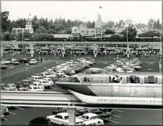 Old parking lot-   Now known as CALIFORNIA ADVENTURES PARK..