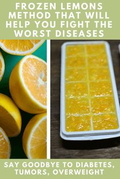 FROZEN LEMONS METHOD WILL HELP YOU FIGHT THE WORST DISEASES – SAY GOODBYE TO DIABETES, TUMORS, OVERWEIGHT