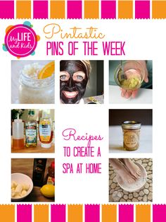 At Home Spa Recipes! From hair masks to lip scrubs (and foot soaks too!) - if you're in need of a spa day at home - I've got you covered.