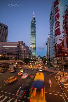 Taipei 101 in Taipei City_ Taiwan