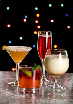 "Cocktails and ""Mocktails"" for the Holidays"