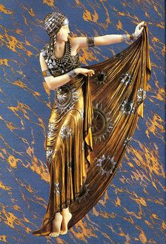 Art Deco dancer, Demetre Chiparus