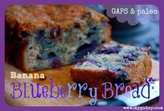 GAPS Banana Blueberry Bread