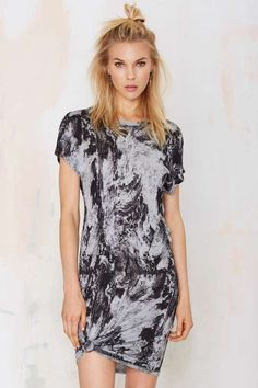 Just Female Earth Tee Dress