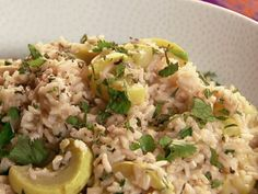 Summer Squash and Green Rice Recipe : Patrick and Gina Neely : Food Network - FoodNetwork.com