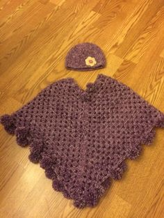 A personal favorite from my Etsy shop https://www.etsy.com/listing/495880349/toddlers-poncho-made-to-order-crochet