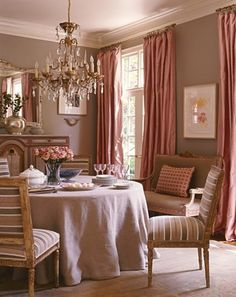 Color Soiree Pink and Taupe