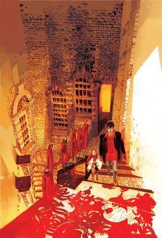 Caccia Alle Streghe (edizione Bao) #DylanDog Illustrazione di Dall'Agnol, Colori di Cavenago