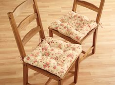 Rose Kitchen Chair Cushions Set of 2