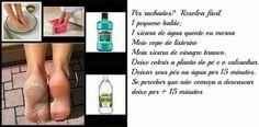 ★Charme & Glamour★: Dica e receita prática e fácil para rachadura nos pés Listerine, Convenience Store, Glamour, Skin Care, How To Make, Rapunzel, Inspiration, Beauty, Inspired