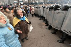 Riots in Kiev To Focus, Ukraine