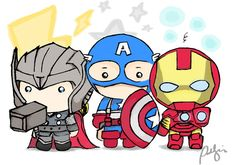 Find images and videos about Avengers, chibi and captain america on We Heart It - the app to get lost in what you love. Avengers Drawings, Avengers Cartoon, Marvel Avengers Comics, Marvel Avengers Assemble, Avengers Characters, Marvel Art, Marvel Cartoons, Avengers Cast, Baby Marvel