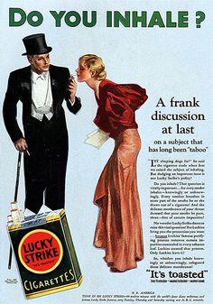1932 - Do You Inhale? - Lucky Strike
