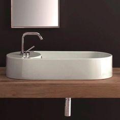Nameeks Art. 8093 Scarabeo Washbasin Vessel Sink, White