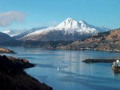 Beautiful view of mountians in Kodiak