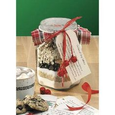 Make Your Own Cookie Mixes For Gifts