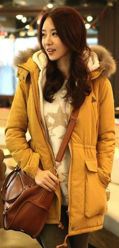 Casual hooded coat