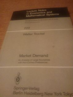 Walter Trockel: Market Demand