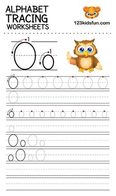Alphabet Tracing Worksheets A-Z free Printable for Preschooler and Kindergartener. This Alphabet Tracing is a great activity for kids to practice letter recognition and handwriting skills. Printable letter O tracing worksheet. Letter O Activities, Free Printable Alphabet Worksheets, Alphabet Tracing Worksheets, Tracing Letters, Preschool Worksheets, Preschool Assessment, Handwriting Worksheets, Alphabet Letters, Tracing Practice Preschool