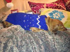 Minnie's Christmas jumper