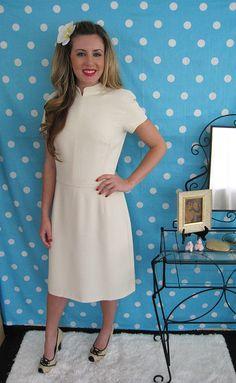 90s Cream Giorgio Armani Le Collezioni Designer Sheath Dress Jean Shirts,  Denim Shirt, Ivory c2983439bd4