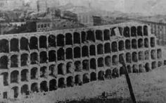 """Alton Military Prison, IL opened as a """"military detention camp"""" early in 1862. Severe overcrowding and bad sanitation brought on a smallpox epidemic which killed as many as a dozen Southern prisoners a day."""