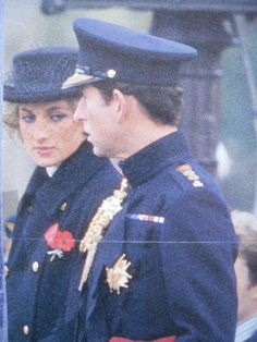 Charles & Diana........YES, EVEN ON SUPPOSEDLY HAPPY OCCASIONS, IT'S SOMETIMES HARD TO SMILE.................ccp